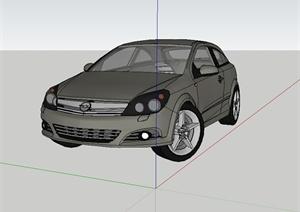 某完整详细的汽车设计SU(草图大师)模型