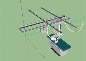 导管室、介入室手术室设备设计SU(草图大师)模型