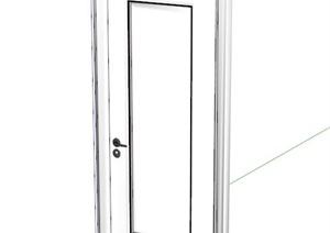 室内木门设计SU(草图大师)模型