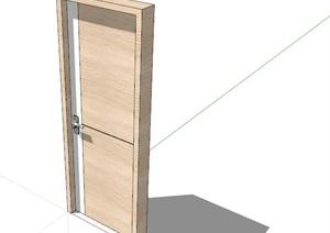 室内装饰木门素材SU(草图大师)模型