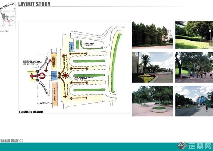 详细的主题公园景观规划设计ppt方案