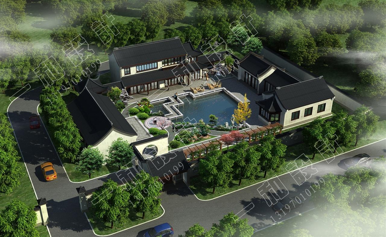 四合院-一和景观设计