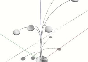 室内吊灯灯具设计SU(草图大师)模型