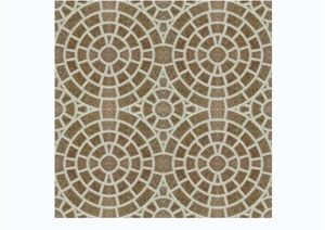 现代风格多种广场砖与拼花设计jpg贴图