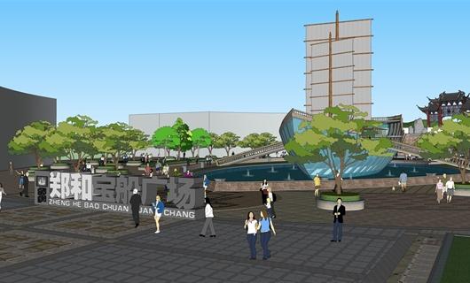 (晋宁)昆阳小街景观设计方案