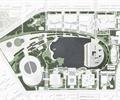校园景观,校区规划,学校设计
