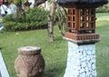 燈龕,燈具,坐凳,草坪景觀