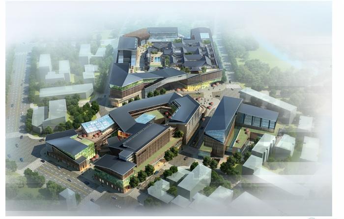 某新中式商业街方案设计文本