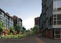 地面鋪裝,常綠喬木,花卉植物,住宅,住宅景觀