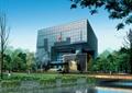 办公建筑,高层建筑,水体景观,植被