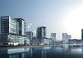 滨水景观,滨水建筑,办公建筑