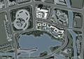 商业环境,道路,水体景观,建筑