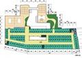商业建筑,户型图,运动场