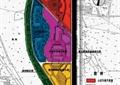 商业环境规划,景观分区图,道路