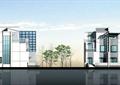 住宅建筑,多层住宅,居住建筑,植被