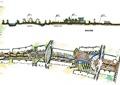 住宅景观规划,水体,园路,道路剖面图