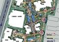 住宅景观规划,道路分析,植被,水景