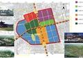 商业环境规划,景观分区图