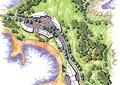 滨水公园,绿地景观