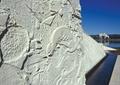 石景墙,雕塑花纹