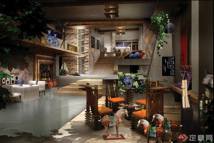 餐廳,客廳,室內裝飾
