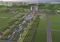 厂区规划,厂区环境,草坪景观,道路景观