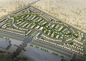 某别墅住宅小区规划设计方案