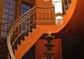 旋转楼梯,吊灯,灯台