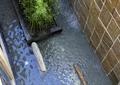 跌水景观,种植池,水景墙,住宅景观