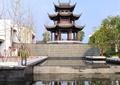 塔樓,景觀塔,濱水景觀,景觀水池,庭院燈