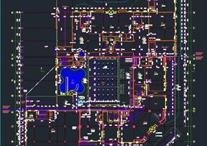 某商业中心设计建筑设计CAD详细施工图