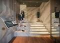 台阶,西服,衣架,形象墙,地面铺装,服装店