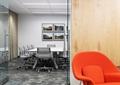 会议桌椅,地面铺装,沙发,形象墙,装饰画,办公空间
