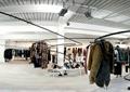 衣服架,服装店展厅,展厅设计