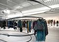 衣服架,展厅,展厅设计,服装店展厅