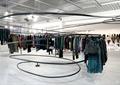 衣服架,服装店展厅,展厅,展厅设计