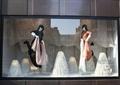 橱窗展示,模特,装饰品,装饰摆件,服装店