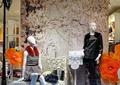 櫥窗,模特,服裝,裝飾擺件,商業標志,服裝店