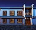 餐厅建筑,两层建筑,古建筑,餐饮建筑