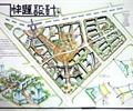 住宅景观,道路,住宅建筑,植被