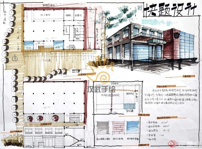 咖啡厅,茶餐厅,餐饮建筑