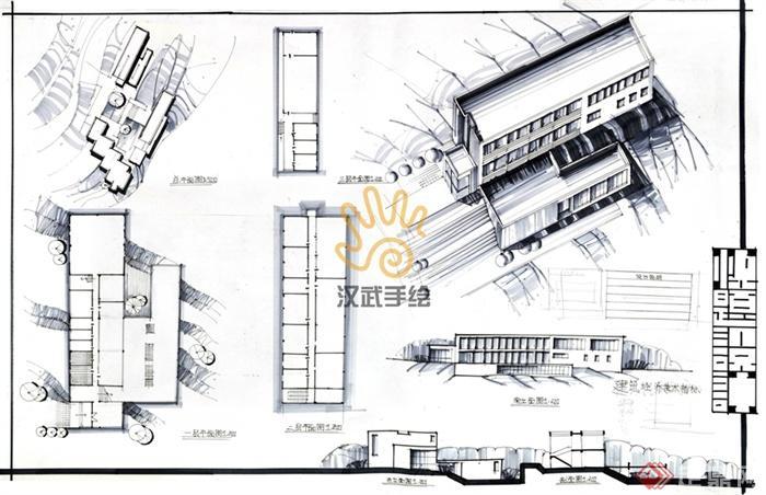 办公楼,多层办公楼,写字楼