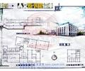 文化建筑,图书馆,多层建筑
