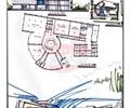 图书馆,文化建筑,两层建筑