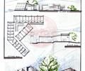 服务中心,商业建筑,旅游建筑,单层建筑