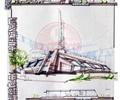 活动中心,文化建筑,单层建筑