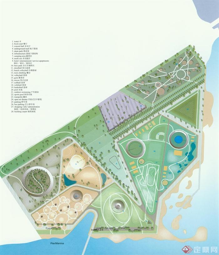 旅游景区,商业区规划,旅游景观