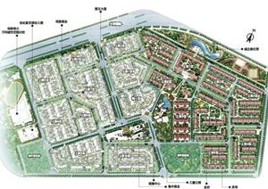 现代某万科住宅小区建筑规划设计PPT文本基础