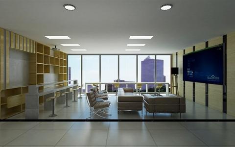 服务台,休闲区及办公室设计