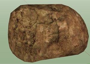 十四种不同景石石头SU(草图大师)模型